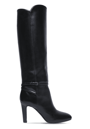 90mm Jane Leather Tall Boots