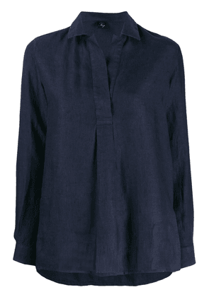 Fay relaxed fit shirt - Blue