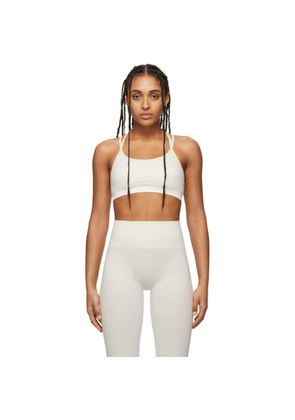 Reebok By Victoria Beckham Off-White Seamless Bra