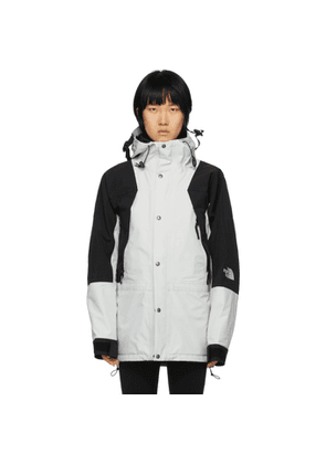 The North Face Grey and Black 1994 Retro Mountain Light Jacket