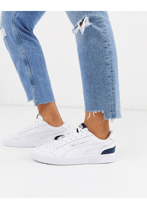 Puma Ralph Sampson sneakers in white and mint | ASOS