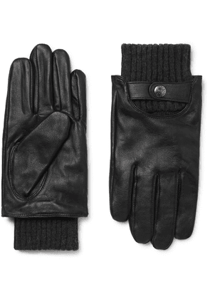 Dents - Buxton Touchscreen Leather Gloves - Men - Black