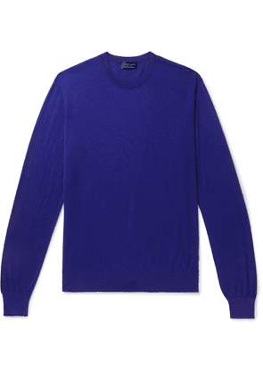 Charvet - Cashmere and Silk-Blend Sweater - Men - Blue