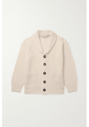 Brunello Cucinelli Kids - Ages 4 - 6 Ribbed Cashmere Cardigan