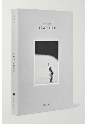 Abrams - Cereal City Guide: New York Paperback Book - Gray