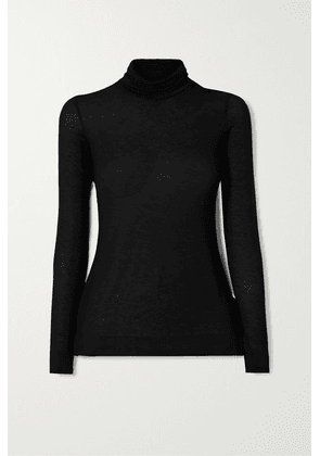 Commando - Stretch-modal And Cashmere-blend Turtleneck Sweater - Black