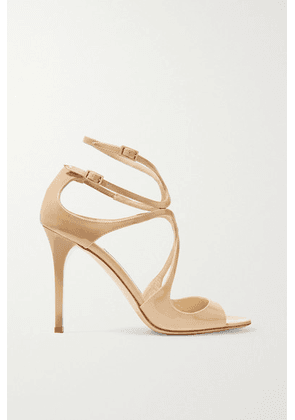 Jimmy Choo - Lang 100 Patent-leather Sandals - IT34
