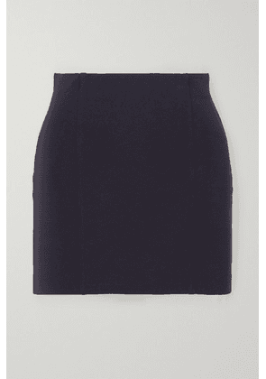 GAUGE81 - Malibu Stretch-crepe Mini Skirt - Navy