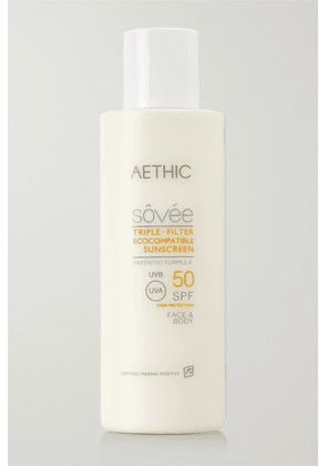 Aethic - Triple-filter Ecocompatible Sunscreen Spf50, 150ml - one size
