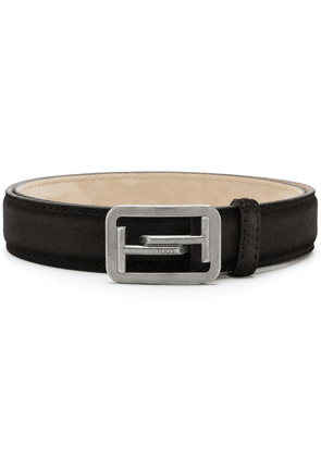 Tod's Double T buckle belt - Brown
