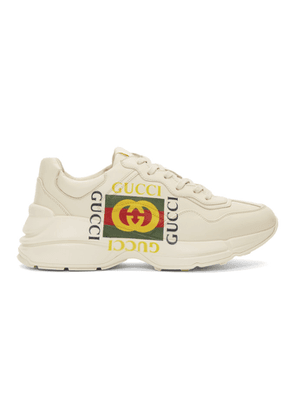 Gucci Off-White Box Logo Ryhton Sneakers