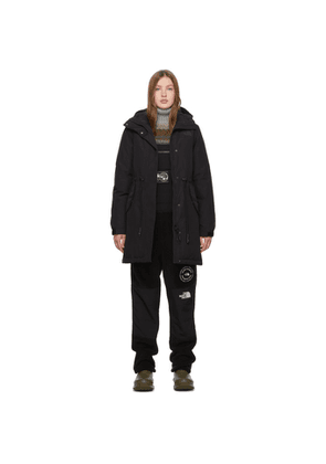 The North Face Black Down Stratus Parka