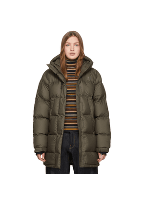 The North Face Green Down Vistaview Coat