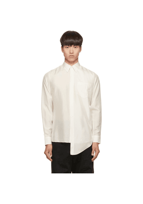Givenchy Off-White Silk Shirt