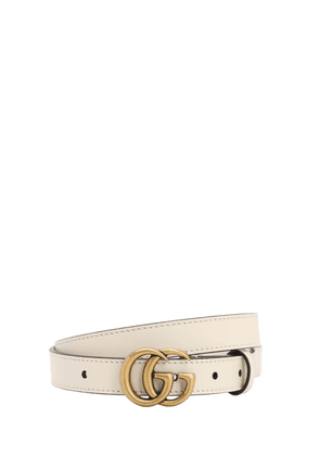 20mm Gg Marmont Leather Belt
