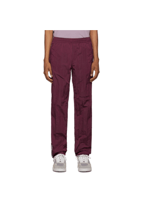 Filling Pieces Purple Cord Track Pants