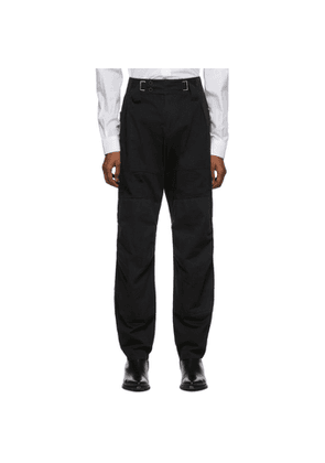 Givenchy Black Aviator Trousers