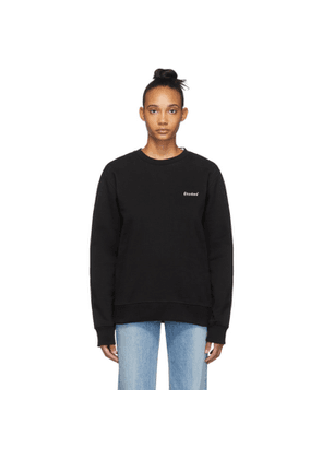 Etudes Black Story Small Logo Sweatshirt