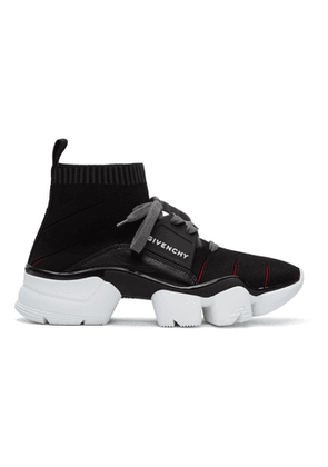 Givenchy Black Jaw High-Top Sneakers
