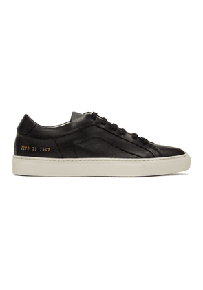 Common Projects Black Achilles Multi-Ply Low Sneakers