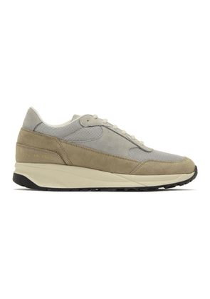 Common Projects Grey Track Classic Low Sneakers