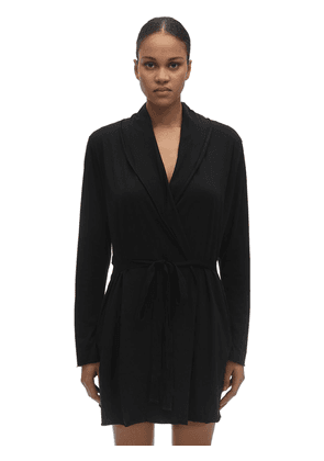 Double Pima Cotton Wrap Robe