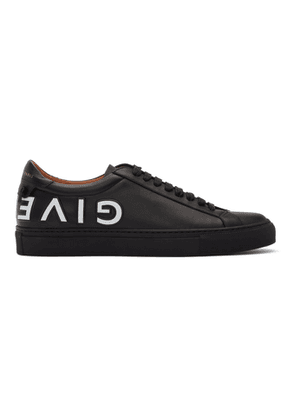 Givenchy Black and White Reverse Logo Urban Street Sneakers