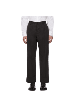 Maison Margiela Grey Garment-Dyed Loose Trousers