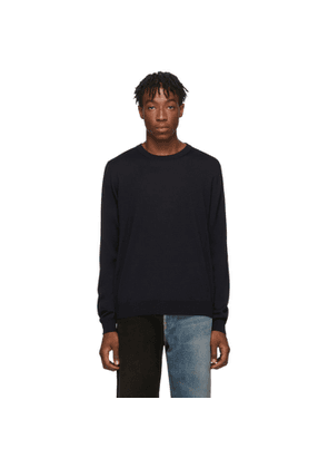 Balenciaga Black Fine Wool Sweater