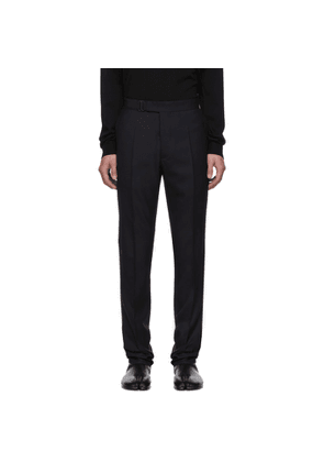 Maison Margiela Navy Twill Trousers
