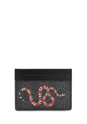 Snake Gg Supreme Card Holder