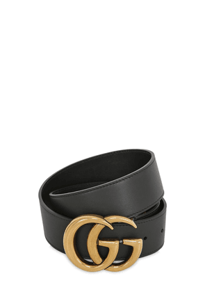 4cm Gg Leather Belt