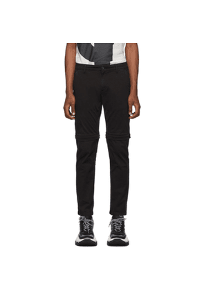 Kenzo Black Zip-Off Trousers