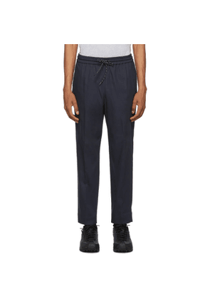 Kenzo Navy Tapered Trousers