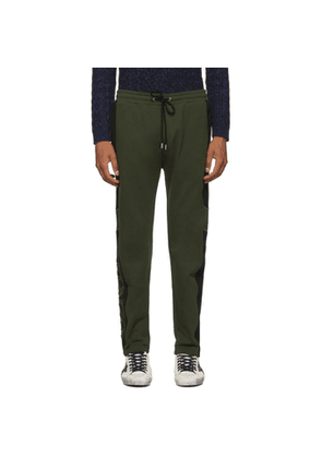 Kenzo Green Mixed Mesh Lounge Pants
