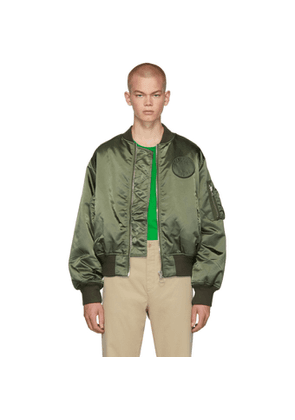 Etudes Green Horizon Bomber Jacket