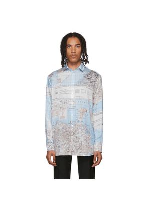 Etudes Multicolor Map Reflet Shirt