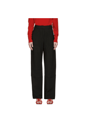 Christopher Esber Black Utility Trousers
