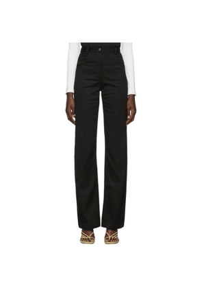 Christopher Esber Black Tailored Panel Jeans