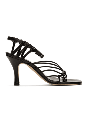 Christopher Esber Black Valletta Sandals