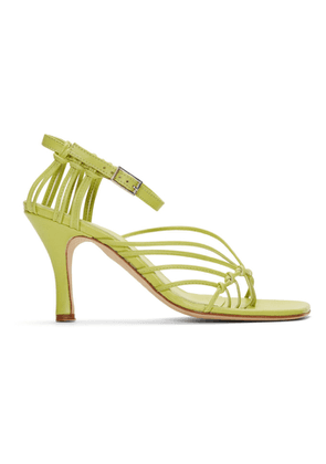 Christopher Esber Yellow Valletta Sandals