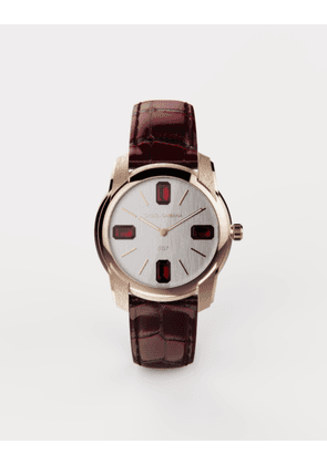 Dolce & Gabbana Watches - GOLD WATCH WITH RUBIES BURGUNDY