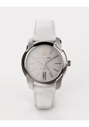 Dolce & Gabbana Watches - DS7 WATCH IN STEEL AND GOLD WHITE