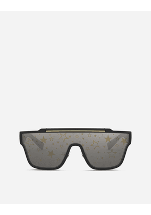 Dolce & Gabbana Sunglasses - MILLENNIAL STAR SUNGLASSES BLACK AND GOLD