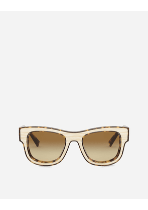 Dolce & Gabbana Sunglasses - DOMENICO DEEP SUNGLASSES HAVANA AND HORN