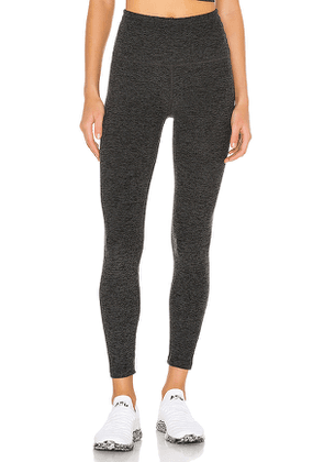 Beyond Yoga Caught In The Midi Legging in Charcoal. Size XS,M,L.