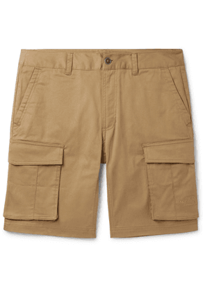The North Face - Anticline Cotton-Blend Twill Cargo Shorts - Men - Brown