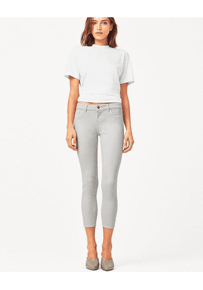 Florence Jeans Cropped Bone