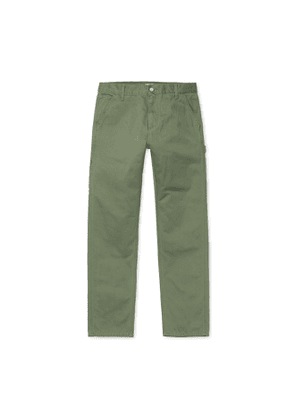 Carhartt Ruck Single Knee Pant Dollar Green Stone Washed