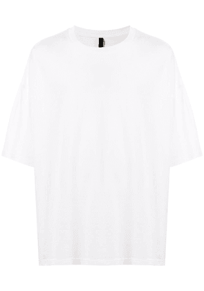Attachment relaxed shape short sleeve T-shirt - White